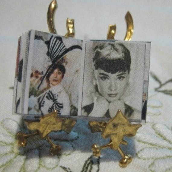 Miniature book  Audrey Hepburn Our Fair Lady