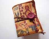 Mini Cleopatra . Mini handbound journal -