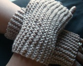 Everyday MITTS - Regular Length  in TAUPE  BROWN