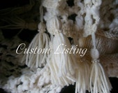 Custom Listing For DeBorah Burton Eldridge Custom Knit Socks