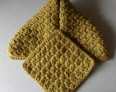 Olive Green Hand Towel And Mini Spa Washcloth Set LUXE SPA COLLECTION