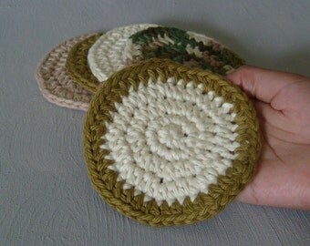 Assorted Mini Scrubbies - Earth Tones
