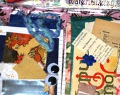Artful Goodness - Mini Ephemera Packs for Collage Artists - Surprise Grab Bag of Art Treats (Batch No. 4)