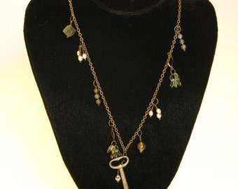 Open The Treasure Box -- An OOAK Beaded Necklace