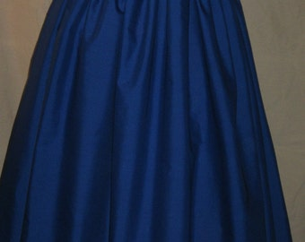 DDNJ Choose Color Renaissance Skirt Civil War Pirate Gypsy Witch Costume Plus Custom Made ANY Size Cosplay Anime Halloween Medieval Larp