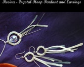 Instant Download TUTORIAL Jewelry Tutorials Earrings Pendant  Wire wrap and crystal Earrings and or Pendant No 56 Rosina