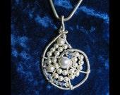 Instant Download TUTORIAL Jewelry Tutorials Pendant  Nautilus Pearl Pendant No 55