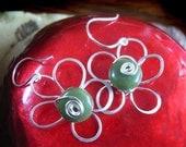 Instant Download TUTORIAL Jewelry tutorial earrings - Wire Flower Earrings with bonus Making Earwires Tutorial  No 30