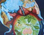 BIRTH OF A NEW WORLD - Print from Original Painting