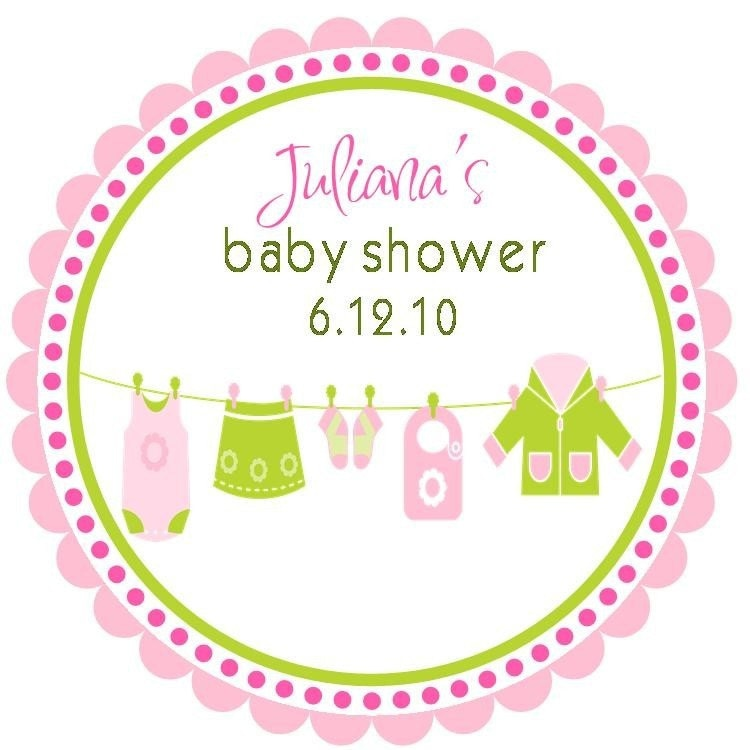 items similar to baby shower stickers personalized baby shower