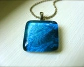 Ice And Frost Fine Art Photography Pendant - Dancing Frost