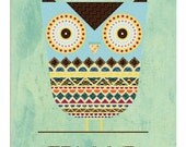 Edmund The Owl Poster