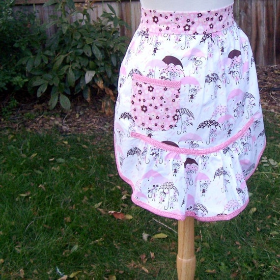 SALE Rainy Day Apron