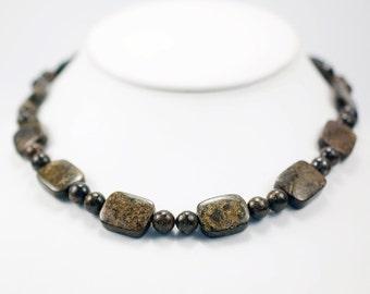 Earthy Bronzite Brillance