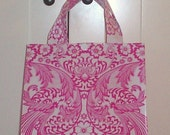 Beth's Pink Paradise Oilcloth Lunch Box