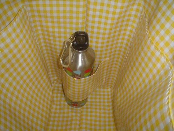 Water/Baby Bottle Interior Pocket