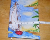 RESERVED FOR IRELAND Paperback Book Cover Sailboat Island