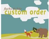 CUSTOM ORDER for OHORBACH only