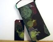 notebook vegetables cover print ooak
