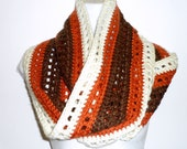 Infinity Scarf, Wide Crochet Scarf