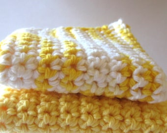 Lots of Sunshine Dish/Wash Cloth Set of 2
