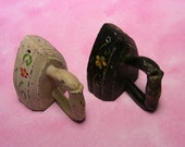Vintage Cast Iron Salt Shakers Made in Portugal