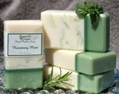 Rosemary Mint Handmade Artisan Soap