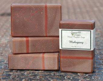 Mahogany Handmade Cold Process Soap