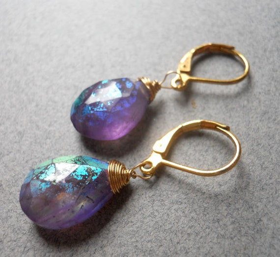 Radiance Mystic Amethyst Earrings LIMITED edition