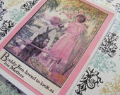 The Ultimate Mothers Day Card, From a Boy To HIs Mother, Vintage image, Urbanek Design