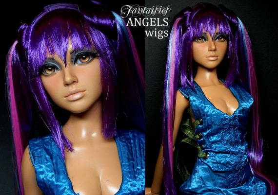 Custom Wig Request for Alison Vonderland -- OOAK Wig for Muse Doll Clio