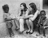 Haiti Relief, black and white portrait 8x10 limited prints