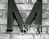 Letter M print - Version 4