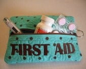 Quilted First Aid case