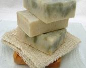 Organic Handmade Soap Fir Needle Scrub, Olive Oil Soap, Vegan