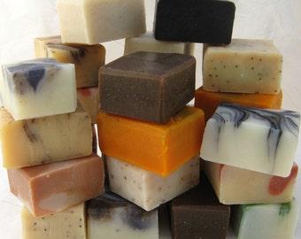 Organic Soap Sampler Set, 9 Half Bars