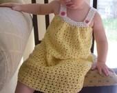Pretty Pleated Yoke Dress - Baby to Youth - Pattern PDF