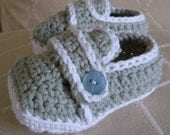 Download Now - CROCHET PATTERN Sporty-Casual Baby Shoes - Pattern PDF