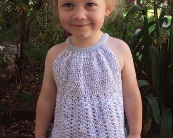 Download Now - CROCHET PATTERN Pleated Halter Top - Pattern PDF