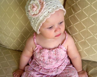 Download Now - CROCHET PATTERN The Sydnee Rose Hat - Crochet Princess Collection - Pattern PDF