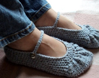 Download Now - CROCHET PATTERN Boho Ballet Flats - Pattern PDF