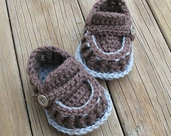 Download Now - CROCHET PATTERN Modern Baby Loafers - Pattern PDF