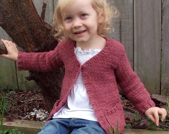 Download Now - CROCHET PATTERN Autumn Cardigan - 0-5 Years - Pattern PDF