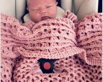 Download Now - CROCHET PATTERN Reversible Car Seat Cover - Pattern PDF