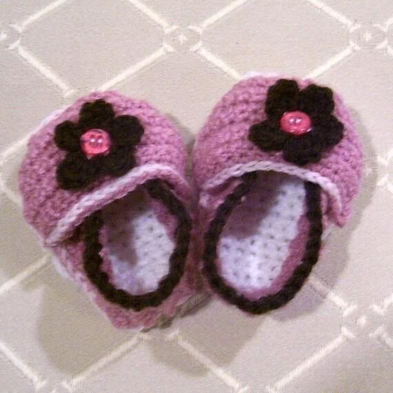 First Bloom - HD Designer Baby Shoes - Pattern PDF