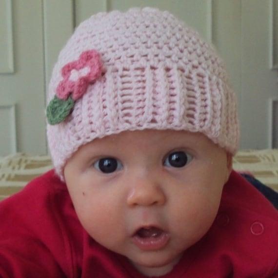 Download Now - CROCHET PATTERN Boutique Baby Hat - Pattern PDF