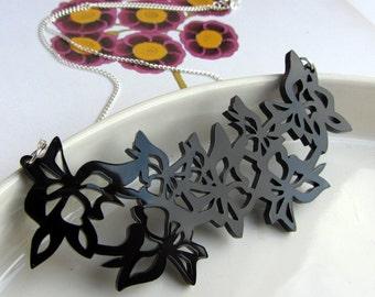 Springtime Butterfly Garland Necklace