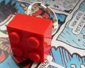 bLoCk PaRtY - LeGo CuBe RiNg - ReD