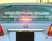 Etsy Shop Vinyl Car Decal
