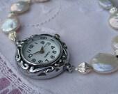 Freshwater Pearl Bracelet Watch
